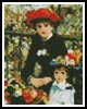 Mini Two Sisters - Cross Stitch Chart