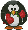 Mini Valentine Penguin