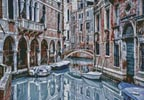 Mini Venice Canal - Cross Stitch Chart
