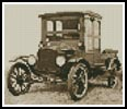 Mini Vintage Car 2 - Cross Stitch Chart