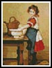 Mini Wash our Clothes - Cross Stitch Chart