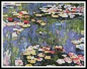 Mini Waterlilies - Cross Stitch Chart