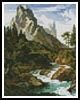 Mini Wetterhorn - Cross Stitch Chart
