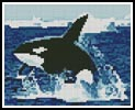 Mini Whale - Cross Stitch Chart