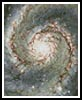 Mini The Heart of the Whirpool Galaxy - Cross Stitch Chart