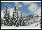 Mini Winter Landscape - Cross Stitch Chart