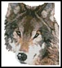 Mini Wolf - Cross Stitch Chart