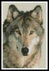 Mini Wolf 3 - Cross Stitch Chart