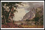 Mini Yosemite Valley - Cross Stitch Chart
