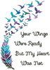Mini Your Wings (Watercolour) - Cross Stitch Chart