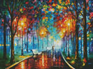 Misty Mood 2 (Large) - Cross Stitch Chart