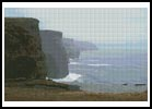 Cliffs of Mohr - Cross Stitch Chart