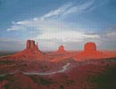 Monument Valley, Utah - Cross Stitch Chart