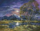 Moonlight over the Valley - Cross Stitch Chart