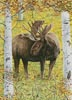 Moose in the Meadow - Cross Stitch Chart