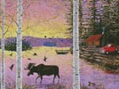 Moose Lake - Cross Stitch Chart