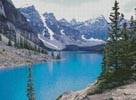 Moraine Lake Photo 2 - Cross Stitch Chart
