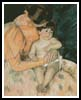 Mother and Child 3 - Cross Stitch Chart