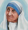 Mother Teresa - Cross Stitch Chart
