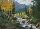 Mountain Melody - Cross Stitch Chart