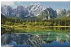Mount Mangart, Italy - Cross Stitch Chart