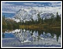 Mount Shuksan - Cross Stitch Chart