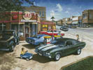Muscle Car Dreams - Cross Stitch Chart