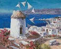 Mykonos - Cross Stitch Chart