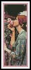 My Sweet Rose Bookmark - Cross Stitch Chart
