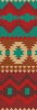 Native Design Bookmark 1 - Cross Stitch Chart