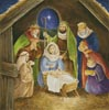 Nativity Painting - Cross Stitch Chart