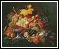 Natures Bounty - Cross Stitch Chart