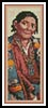 Navajo Indian Woman Bookmark - Cross Stitch Chart