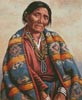 Navajo Indian Woman (Large) - Cross Stitch Chart