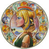 Nefertari Circle (Left) - Cross Stitch Chart