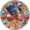 Nefertiti Circle (Right) - Cross Stitch Chart