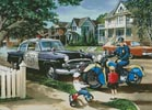 Neighbourhood Patrol - Cross Stitch Chart