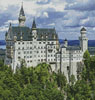 Neuschwanstein Castle 2 (Crop) - Cross Stitch Chart