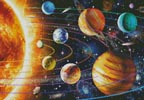 New Solar System - Cross Stitch Chart