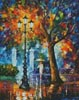 Night Aura (Large) - Cross Stitch Chart