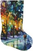 Night Colors Stocking (Right) - Cross Stitch Chart
