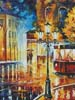 Night Trolley (Crop) - Cross Stitch Chart