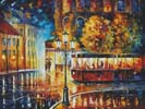 Night Trolley (Large) - Cross Stitch Chart