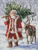 North Pole Tree - Cross Stitch Chart