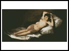Nude Maja - Cross Stitch Chart