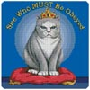 She Who MUST Be Obeyed - Cross Stitch Chart