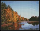Oconto River, Wisconsin - Cross Stitch Chart
