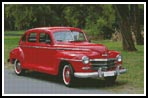 Old Red Car - Cross Stitch Chart