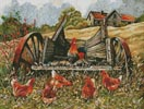 Old Wagons Never Die - Cross Stitch Chart