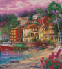 On Golden Shores (Crop) - Cross Stitch Chart